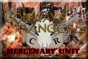 Conways Rangers Mercenary Unit
